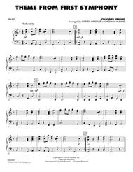Theme from First Symphony - Piano