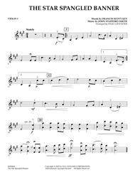 Star Spangled Banner - Violin 1