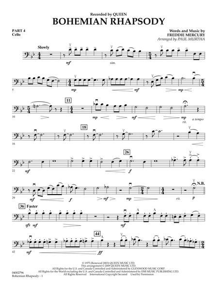 Bohemian Rhapsody - Pt.4 - Cello