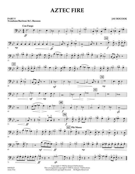 Aztec Fire - Pt.5 - Trombone/Bar. B.C./Bsn.