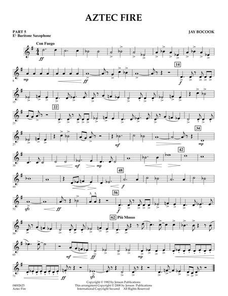 Aztec Fire - Pt.5 - Eb Baritone Saxophone