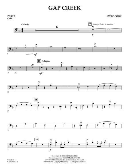 Gap Creek - Pt.5 - Cello