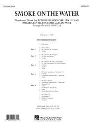 Smoke on the Water - Conductor Score (Full Score)