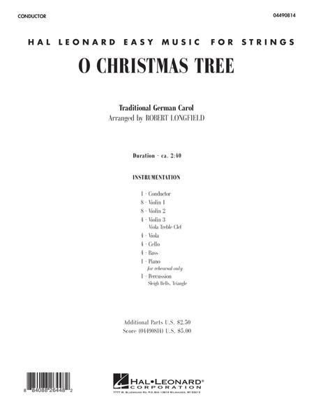 O Christmas Tree - Full Score