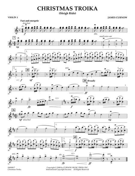 Christmas Troika - Violin 1