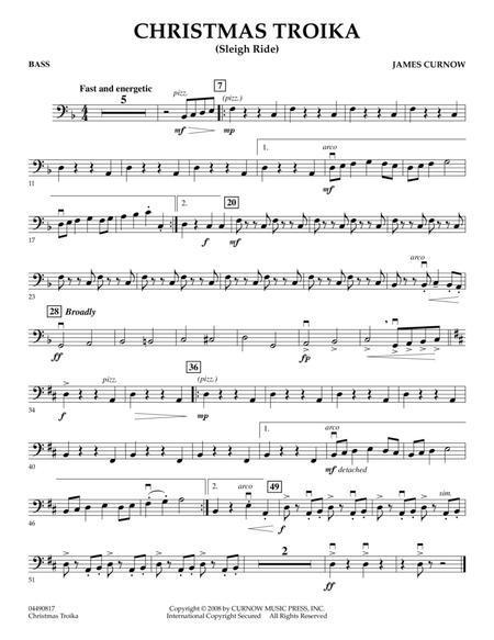 Christmas Troika - Bass