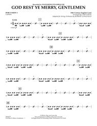 God Rest Ye Merry, Gentlemen - Percussion 1
