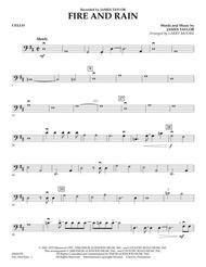 Fire and Rain - Cello