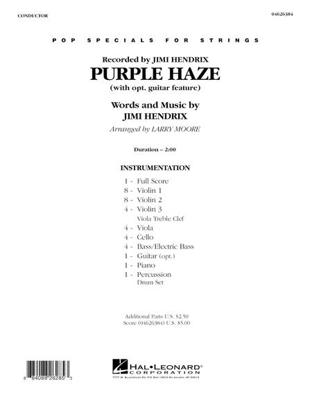 Purple Haze - Full Score