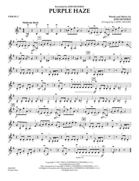 Purple Haze - Violin 2
