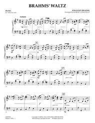 Brahms' Waltz - Piano