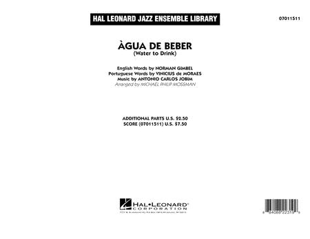 Agua de Beber (Water to Drink) - Conductor Score (Full Score)