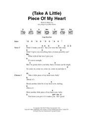 (Take A Little) Piece Of My Heart