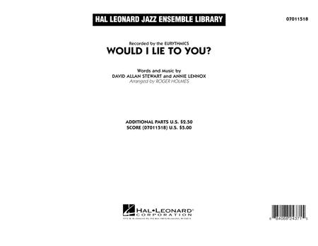 Would I Lie to You? - Conductor Score (Full Score)
