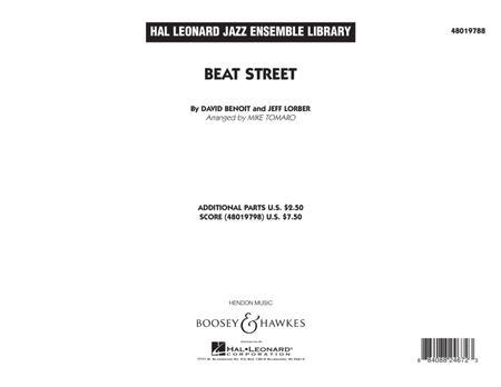 Beat Street - Conductor Score (Full Score)