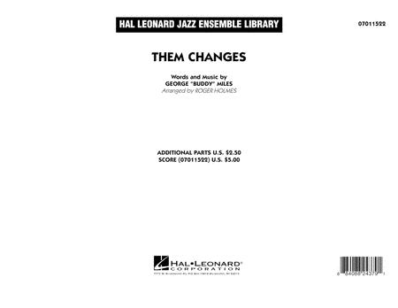 Them Changes - Full Score