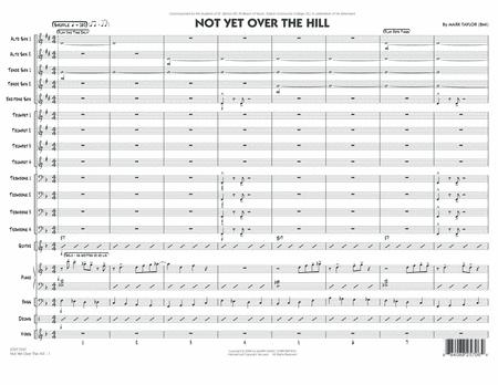 Not Yet Over the Hill - Conductor Score (Full Score)