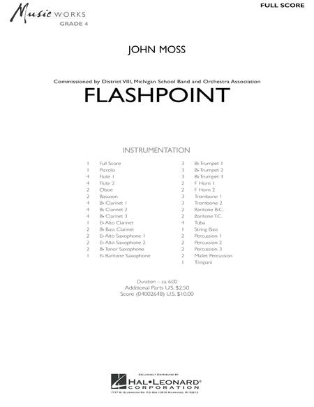 Flashpoint - Full Score