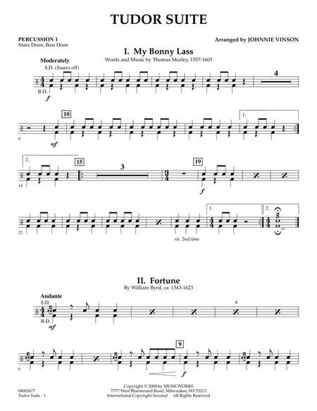 Tudor Suite - Percussion 1