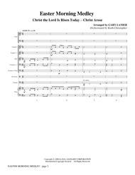 Easter Morning Medley - Score