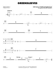 Greensleeves - Percussion 2