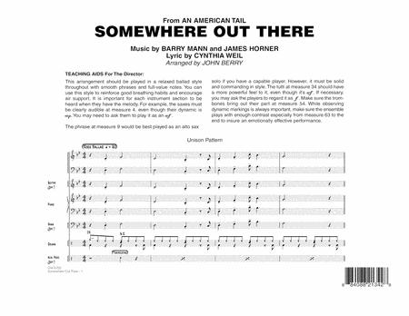 Somewhere Out There - Full Score