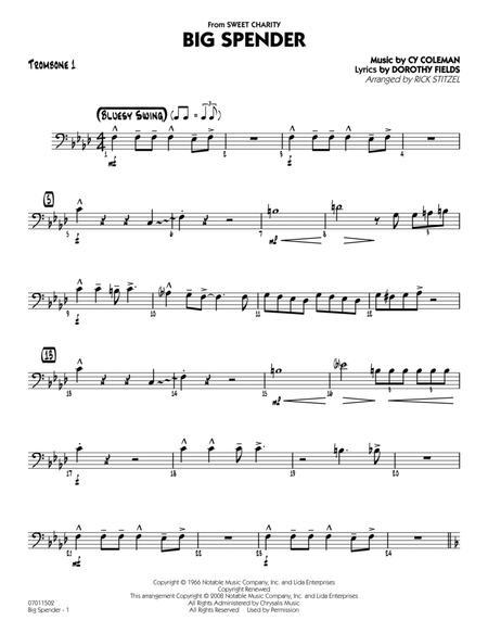 Big Spender - Trombone 1