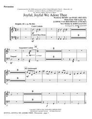 Joyful, Joyful, We Adore Thee - Percussion