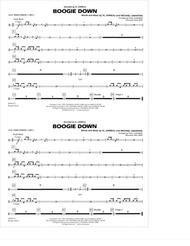 Boogie Down - Aux. Percussion 1