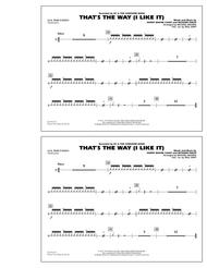 That's the Way (I Like It) - Aux Percussion