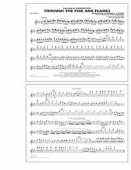 Through the Fire and Flames - Flute/Piccolo