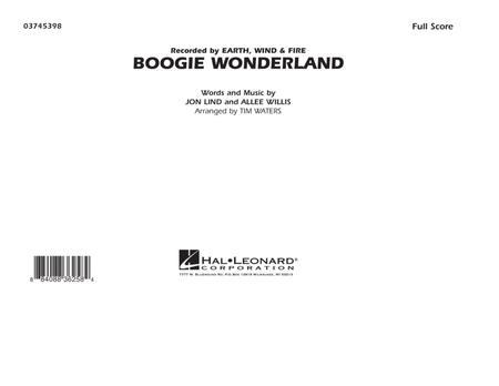 Boogie Wonderland - Full Score