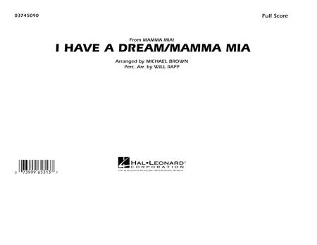 I Have a Dream/Mamma Mia! - Conductor Score (Full Score)