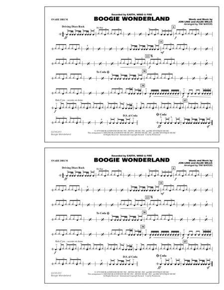 Boogie Wonderland - Snare Drum