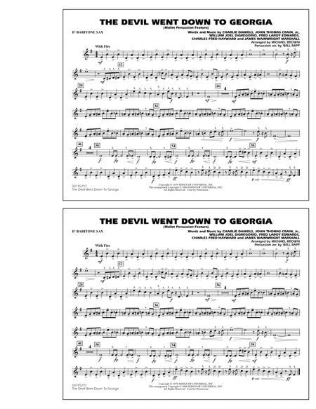 The Devil Went Down to Georgia - Eb Baritone Sax