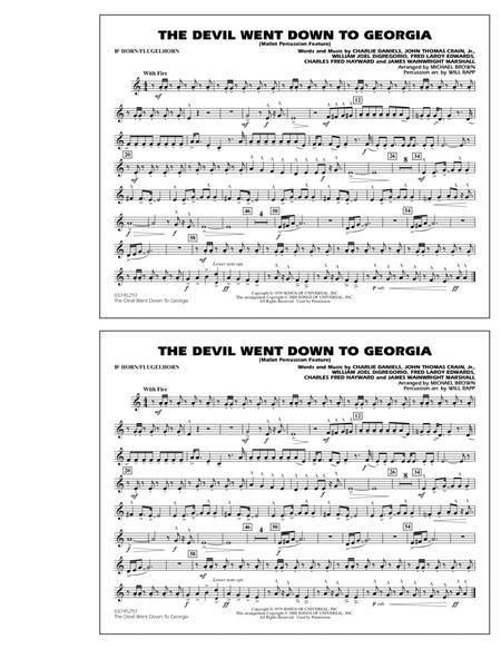 The Devil Went Down to Georgia - Bb Horn/Flugelhorn