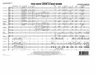 You Give Love a Bad Name - Full Score