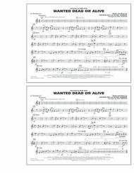 Wanted Dead or Alive - Bb Tenor Sax