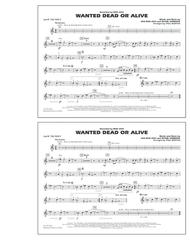 Wanted Dead or Alive - 2nd Bb Trumpet