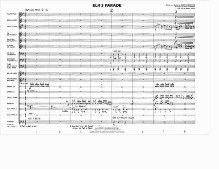 Elk's Parade - Conductor Score (Full Score)