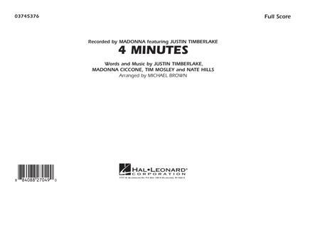 4 Minutes - Full Score