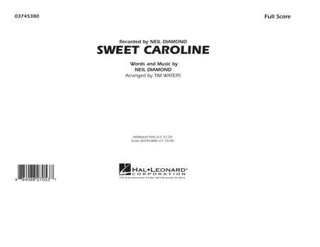 Sweet Caroline - Full Score