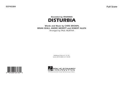 Disturbia - Full Score