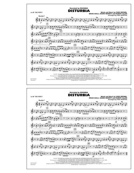 Disturbia - 1st Bb Trumpet