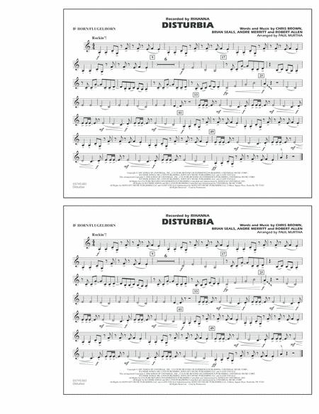Disturbia - Bb Horn/Flugelhorn