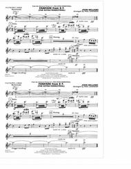 Fanfare from E.T. (The Extra-Terrestrial) - Flute/Picc./Oboe