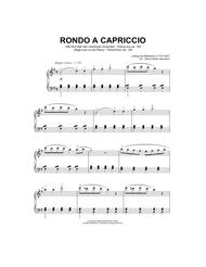Rondo A Capriccio (Rage Over A Lost Penny), Theme from Op.129