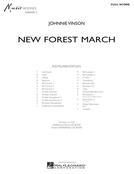 New Forest March - Full Score