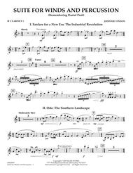 Suite for Winds and Percussion - Bb Clarinet 1