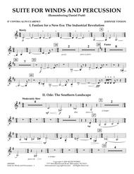 Suite for Winds and Percussion - Eb Contra Alto Clarinet